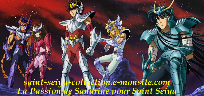 Ma Collection Saint Seiya by Sandrine
